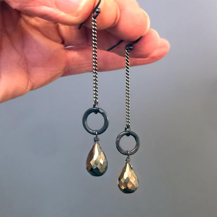 pyrite dangles 1