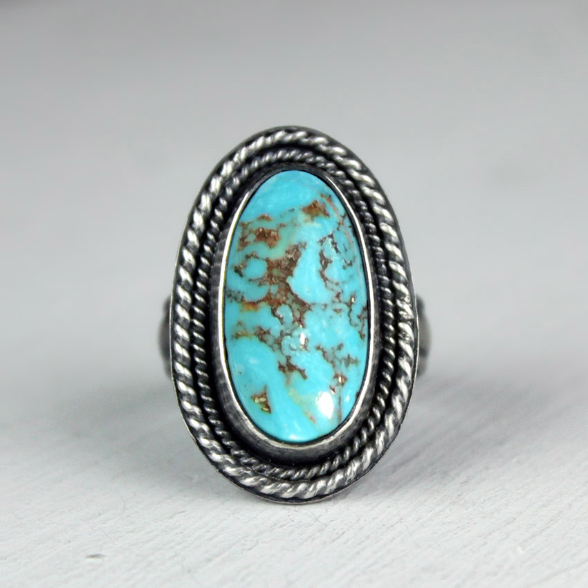 twisted wire turquoise 4